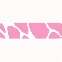 Baby Pink Girl Pattern Colorful Background Large Bar Mats