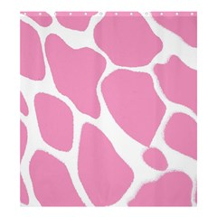 Baby Pink Girl Pattern Colorful Background Shower Curtain 66  X 72  (large)  by Simbadda
