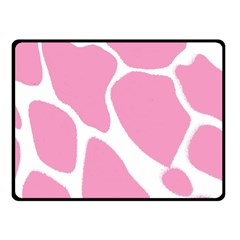 Baby Pink Girl Pattern Colorful Background Fleece Blanket (small) by Simbadda