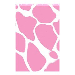Baby Pink Girl Pattern Colorful Background Shower Curtain 48  X 72  (small)  by Simbadda