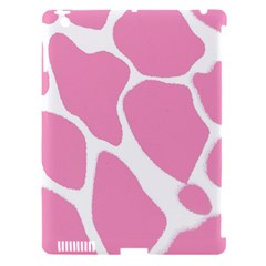 Baby Pink Girl Pattern Colorful Background Apple Ipad 3/4 Hardshell Case (compatible With Smart Cover) by Simbadda