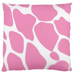 Baby Pink Girl Pattern Colorful Background Large Cushion Case (two Sides)