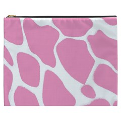 Baby Pink Girl Pattern Colorful Background Cosmetic Bag (xxxl)
