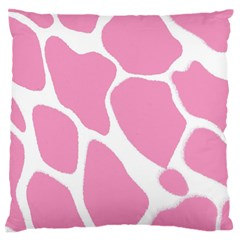 Baby Pink Girl Pattern Colorful Background Standard Flano Cushion Case (one Side) by Simbadda