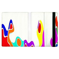 Simple Abstract With Copyspace Apple Ipad 2 Flip Case by Simbadda