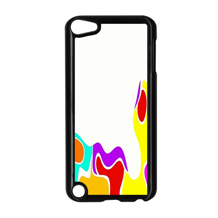 Simple Abstract With Copyspace Apple iPod Touch 5 Case (Black)