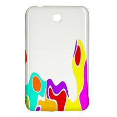 Simple Abstract With Copyspace Samsung Galaxy Tab 3 (7 ) P3200 Hardshell Case  by Simbadda