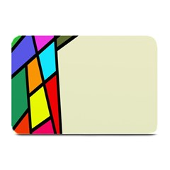 Digitally Created Abstract Page Border With Copyspace Plate Mats by Simbadda