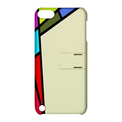 Digitally Created Abstract Page Border With Copyspace Apple Ipod Touch 5 Hardshell Case With Stand by Simbadda
