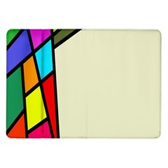 Digitally Created Abstract Page Border With Copyspace Samsung Galaxy Tab 10 1  P7500 Flip Case by Simbadda