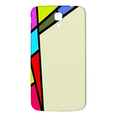 Digitally Created Abstract Page Border With Copyspace Samsung Galaxy Mega I9200 Hardshell Back Case