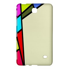 Digitally Created Abstract Page Border With Copyspace Samsung Galaxy Tab 4 (8 ) Hardshell Case  by Simbadda
