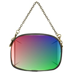 3d Rgb Glass Frame Chain Purses (one Side)  by Simbadda