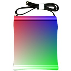 3d Rgb Glass Frame Shoulder Sling Bags by Simbadda
