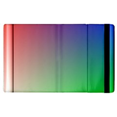 3d Rgb Glass Frame Apple Ipad 3/4 Flip Case by Simbadda