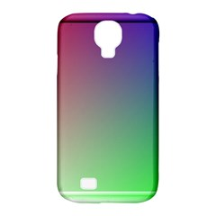 3d Rgb Glass Frame Samsung Galaxy S4 Classic Hardshell Case (pc+silicone) by Simbadda