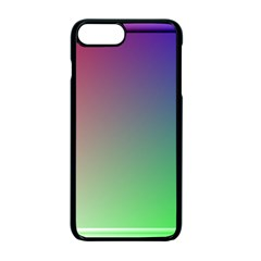 3d Rgb Glass Frame Apple Iphone 7 Plus Seamless Case (black)