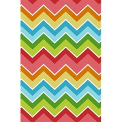 Colorful Background Of Chevrons Zigzag Pattern 5 5  X 8 5  Notebooks by Simbadda