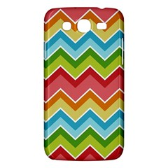 Colorful Background Of Chevrons Zigzag Pattern Samsung Galaxy Mega 5 8 I9152 Hardshell Case  by Simbadda