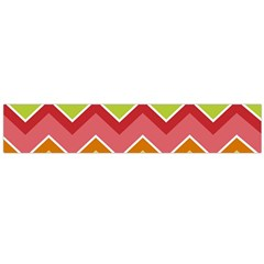 Colorful Background Of Chevrons Zigzag Pattern Flano Scarf (large) by Simbadda
