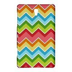 Colorful Background Of Chevrons Zigzag Pattern Samsung Galaxy Tab S (8 4 ) Hardshell Case  by Simbadda