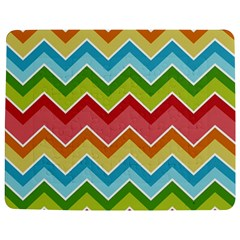 Colorful Background Of Chevrons Zigzag Pattern Jigsaw Puzzle Photo Stand (rectangular) by Simbadda