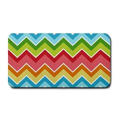 Colorful Background Of Chevrons Zigzag Pattern Medium Bar Mats by Simbadda
