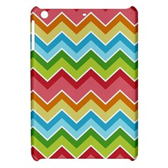 Colorful Background Of Chevrons Zigzag Pattern Apple Ipad Mini Hardshell Case by Simbadda