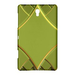 Fractal Green Diamonds Background Samsung Galaxy Tab S (8 4 ) Hardshell Case