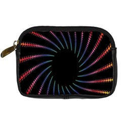 Fractal Black Hole Computer Digital Graphic Digital Camera Cases by Simbadda