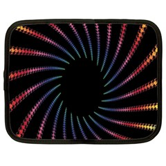 Fractal Black Hole Computer Digital Graphic Netbook Case (xxl)