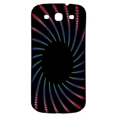 Fractal Black Hole Computer Digital Graphic Samsung Galaxy S3 S Iii Classic Hardshell Back Case by Simbadda