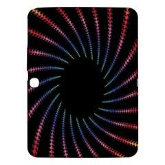 Fractal Black Hole Computer Digital Graphic Samsung Galaxy Tab 3 (10 1 ) P5200 Hardshell Case  by Simbadda