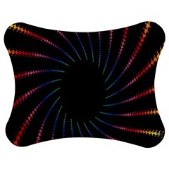Fractal Black Hole Computer Digital Graphic Jigsaw Puzzle Photo Stand (bow) by Simbadda