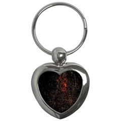 July 4th Fireworks Party Key Chains (heart)  by Simbadda