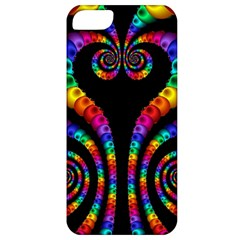 Fractal Drawing Of Phoenix Spirals Apple Iphone 5 Classic Hardshell Case by Simbadda