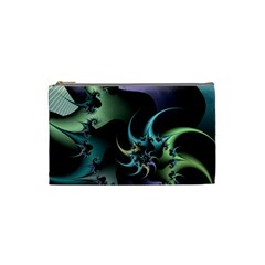 Fractal Image With Sharp Wheels Cosmetic Bag (small)  by Simbadda