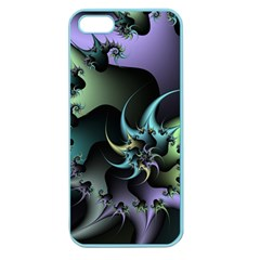 Fractal Image With Sharp Wheels Apple Seamless Iphone 5 Case (color)