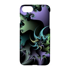 Fractal Image With Sharp Wheels Apple Iphone 7 Hardshell Case by Simbadda