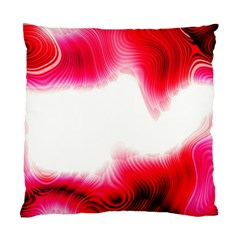 Abstract Pink Page Border Standard Cushion Case (two Sides) by Simbadda