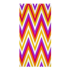 Colorful Chevrons Zigzag Pattern Seamless Shower Curtain 36  X 72  (stall)