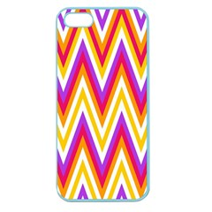 Colorful Chevrons Zigzag Pattern Seamless Apple Seamless Iphone 5 Case (color) by Simbadda