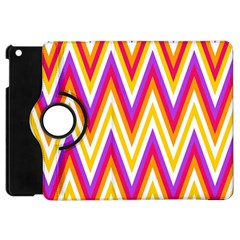 Colorful Chevrons Zigzag Pattern Seamless Apple Ipad Mini Flip 360 Case