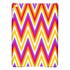 Colorful Chevrons Zigzag Pattern Seamless Ipad Air Hardshell Cases by Simbadda