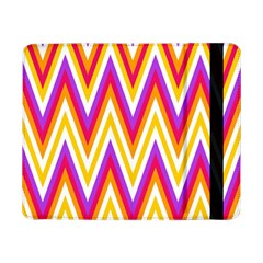 Colorful Chevrons Zigzag Pattern Seamless Samsung Galaxy Tab Pro 8 4  Flip Case