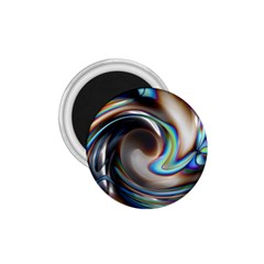 Twirl Liquid Crystal 1 75  Magnets by Simbadda