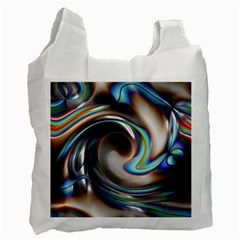 Twirl Liquid Crystal Recycle Bag (two Side)