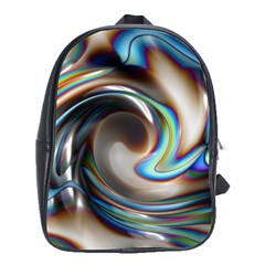 Twirl Liquid Crystal School Bags(large)  by Simbadda