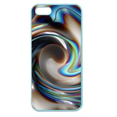 Twirl Liquid Crystal Apple Seamless Iphone 5 Case (color) by Simbadda