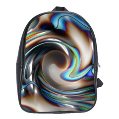 Twirl Liquid Crystal School Bags (xl)  by Simbadda
